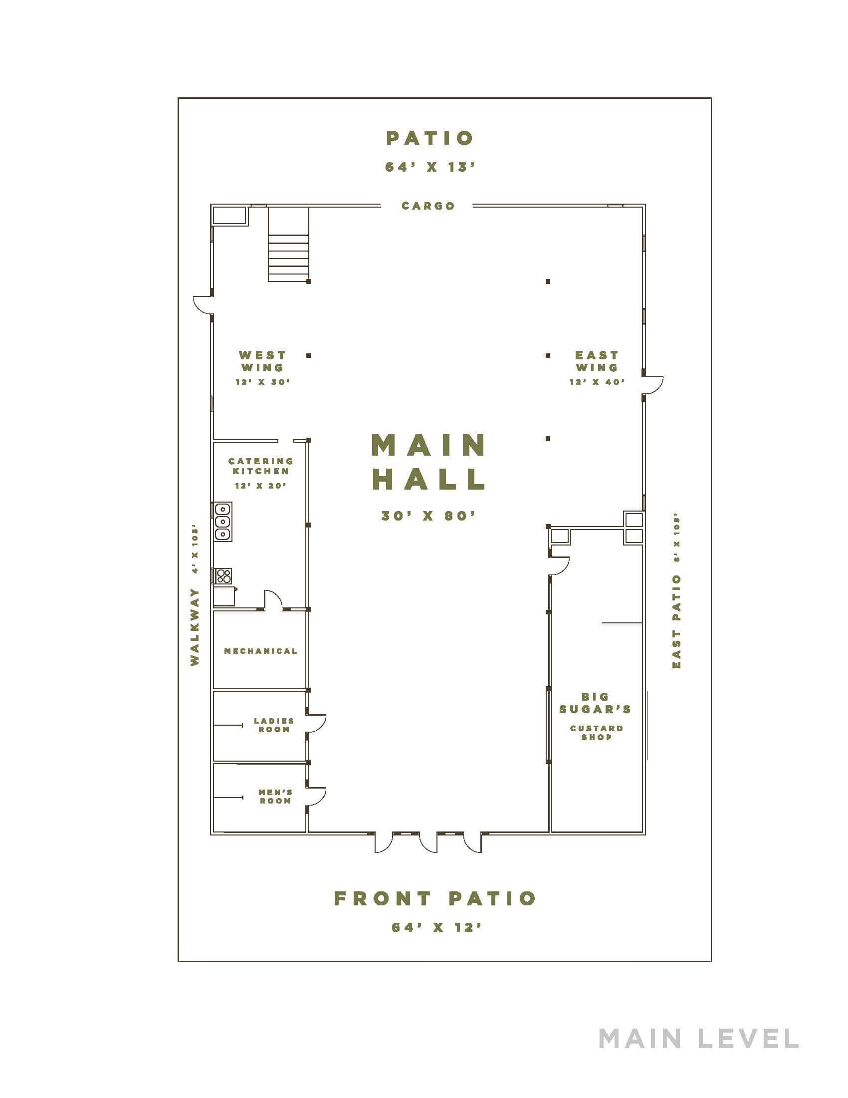 Old Time Reunion Floor Plan